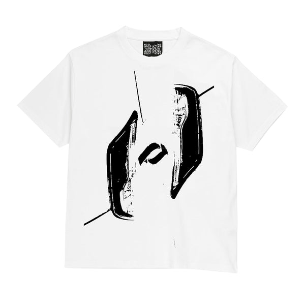 Rave Lights Heavy Tee (White)