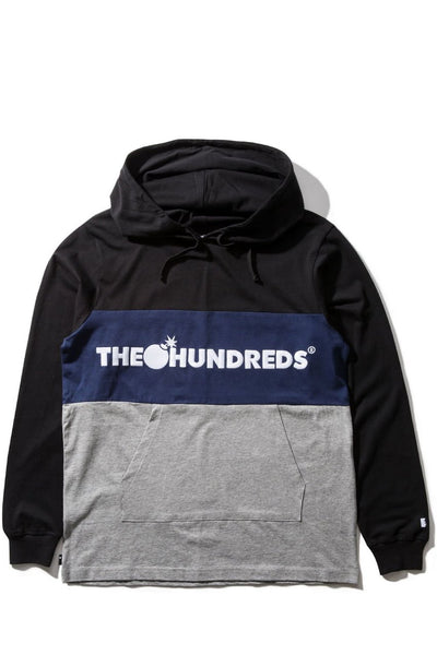 Deck Hooded L/S T-Shirt (Black)