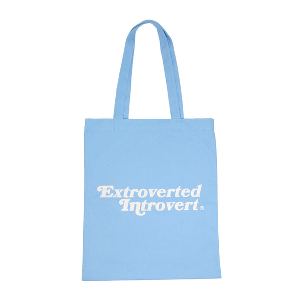 Essential Shopping Tote (Pastel Blue)