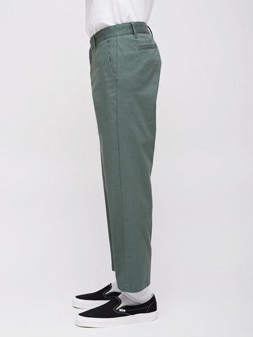 Straggler Flooded Pants (Dusty Green)