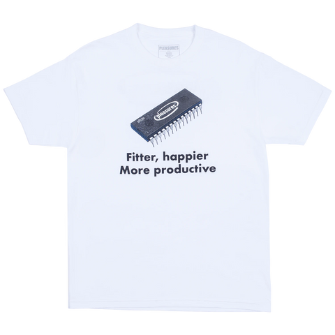 Happier Tee (White)