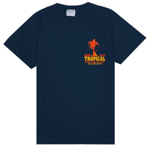 Tropical Tee (Navy)