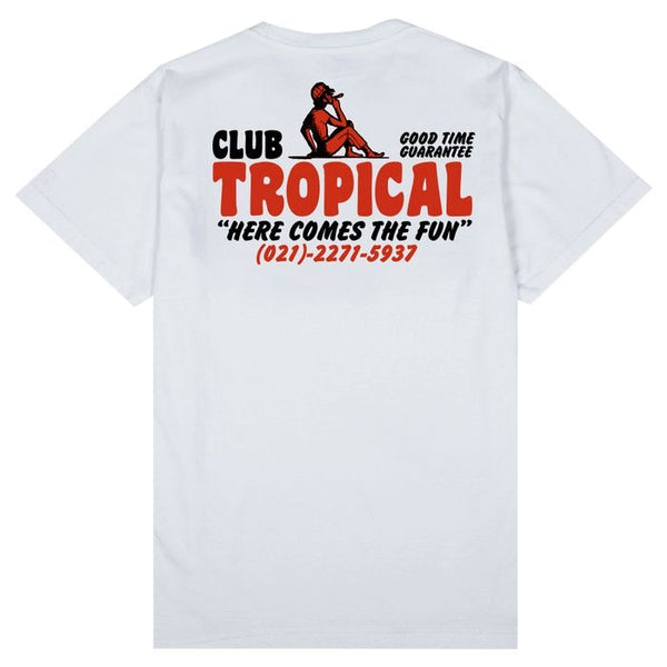 Tropical Tee (White)