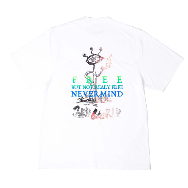 Never Really Free Tee (White)