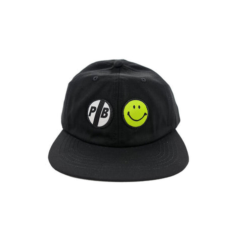 Pil 6 Panel Cap (Black)
