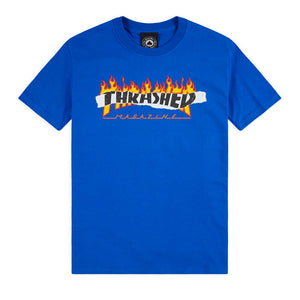 Ripped Tee (Royal Blue)