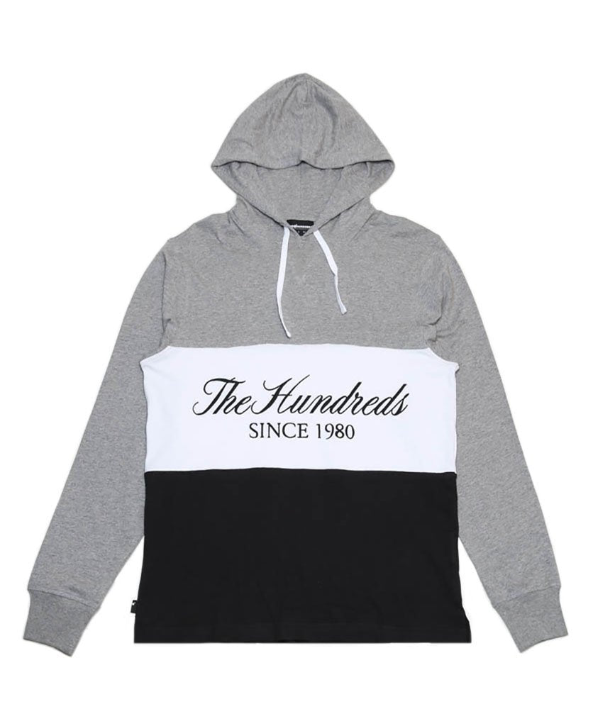 Ellis Hooded L/S T-Shirt (Heather Grey)