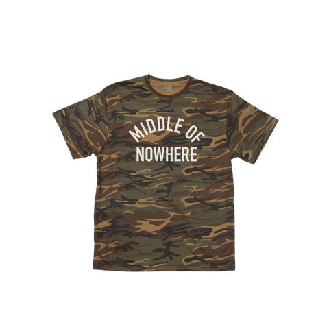 Middle Of Nowhere Tee (Camo)