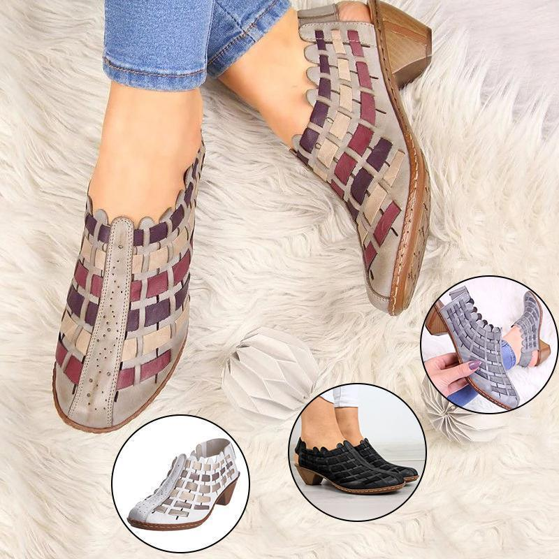Women Casual Comfy Elastic Band Plus Size Sandals