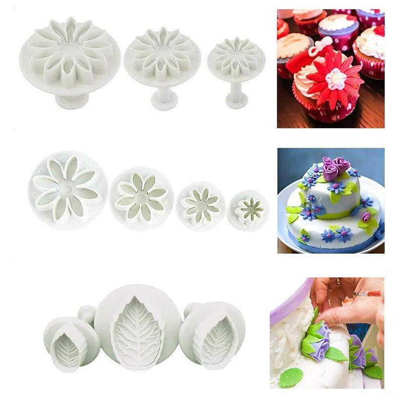Cake flower decorating tools set