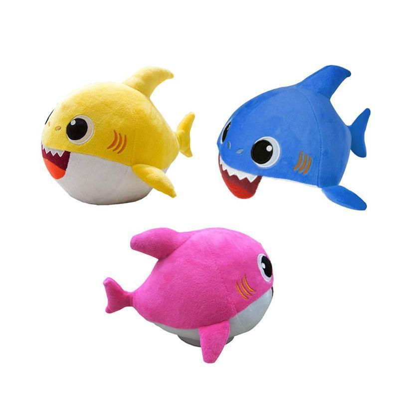 Baby Shark Singing Dancing Doll Stuffed Plush Toy