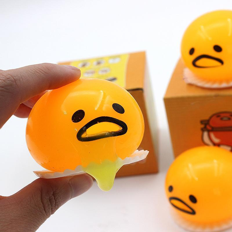 Nowsparkle™ Squishy puking egg yolk stress ball (2PCS & 6PCS)