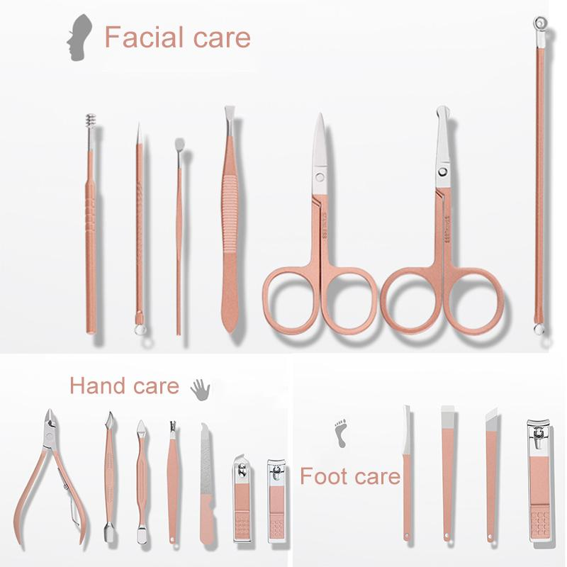Stainless Steel Nail Care kit -18 Pieces