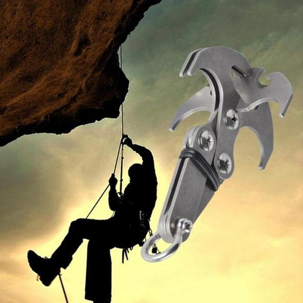 Stainless Steel Survival Folding Grappling Gravity Hook
