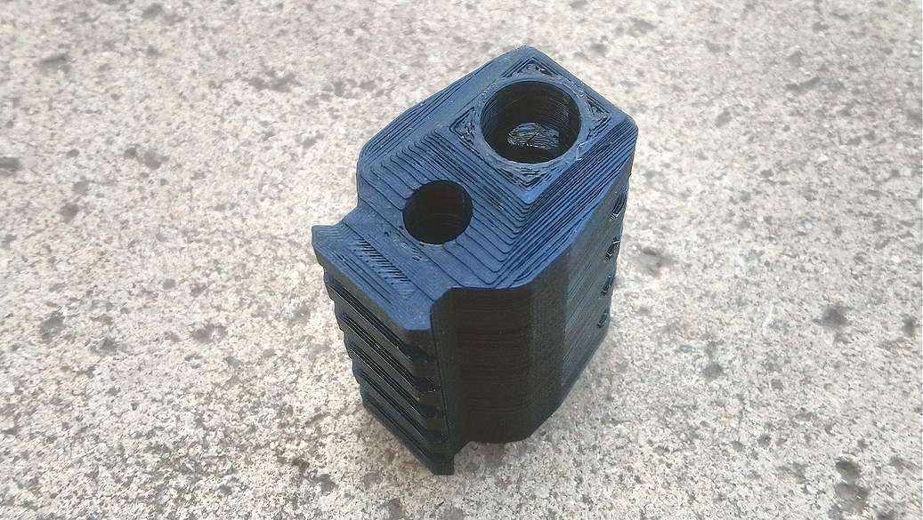 Airsoft3D J.W PE+ - John Wick Movie Inspired Airsoft Compensator V2