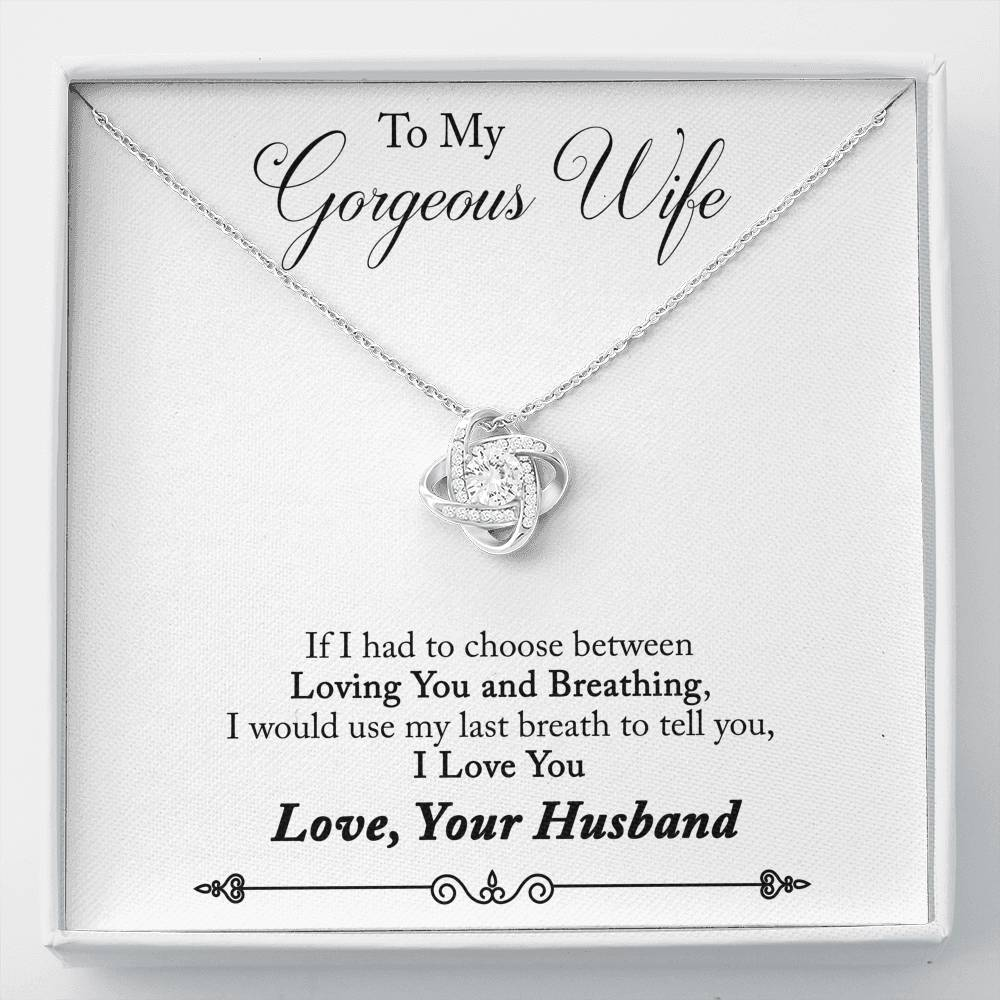 Love Knot Necklace For Your Wife