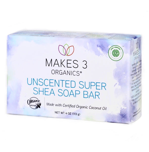 Super Shea Organic Soap Bar