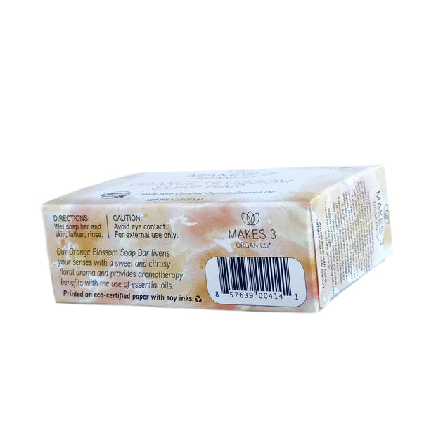 Orange Blossom Organic Soap Bar