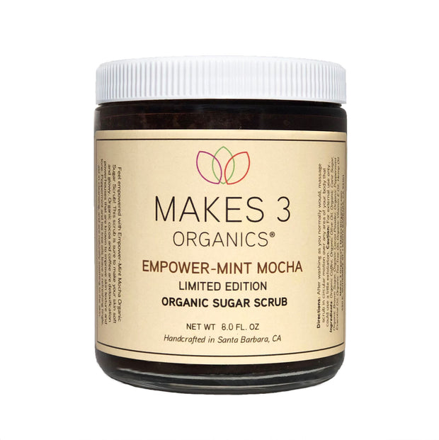 Empower-Mint Mocha Organic Sugar Scrub (Limited Edition)