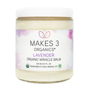 Lavender Organic Miracle Body Balm (8oz.)