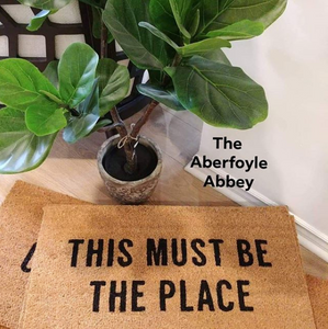 'This Must Be The Place' Mat