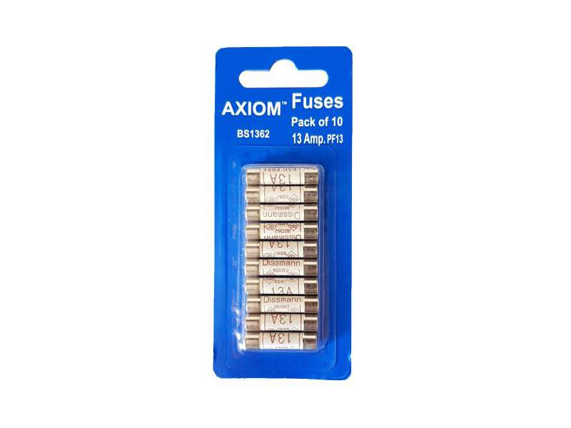 13Amp Domestic 240V Household Mains Plug Fuse Electrical Cartridge Fuses