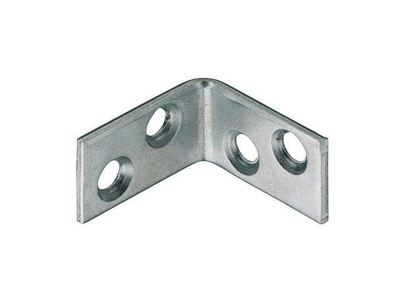 Corner L Braces Angle Brackets Zinc-Plated 25 x 25 x 15mm