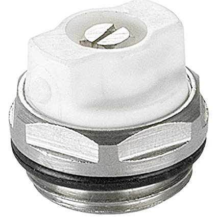 Air Cap Manual Radiator 1/2""