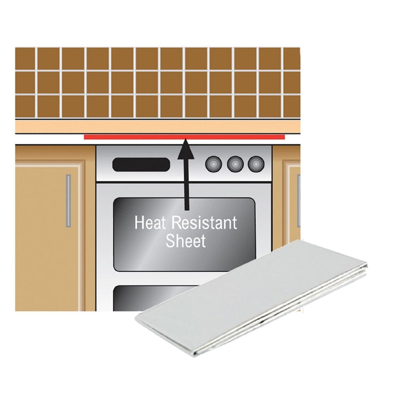 Unika Worktop Protection Sheet 1m x 600mm - Fixing King