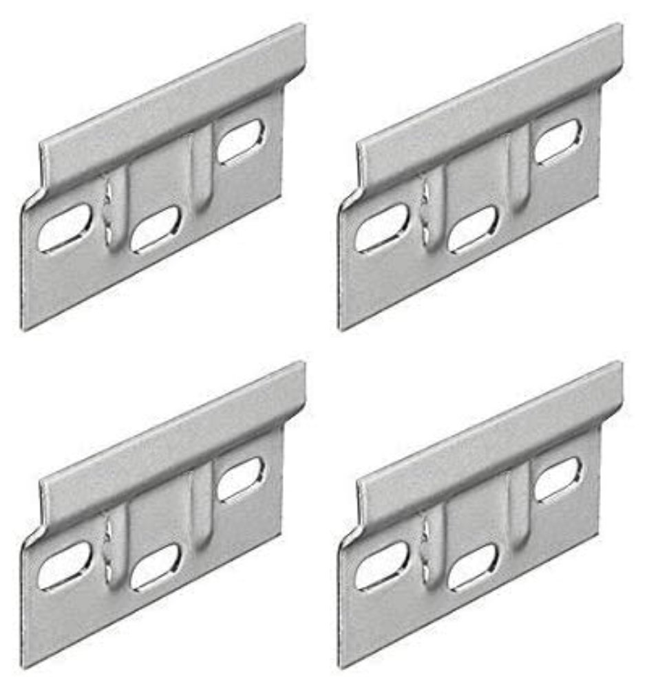 Hanger Plate 63mm Kitchen Cabinet Hanging Brackets for Wall Mounting Cupboards