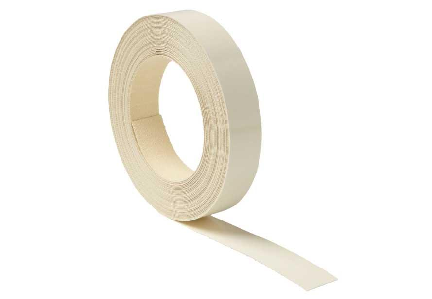 Melamine Tape for Edging Kitchen or Bathroom Cabinets, 10 Meter Roll Cream