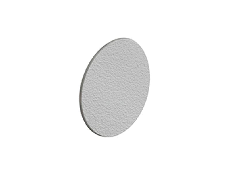 Self Adhesive Screw Cover Caps. Nail and Cam Covers 18mm - Light Grey (36)