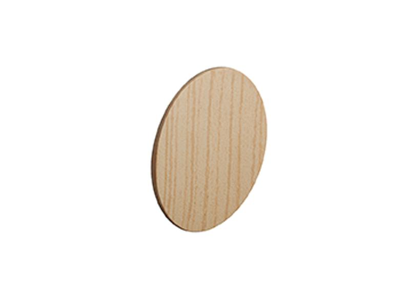Self Adhesive Screw Cover Caps. Nail and Cam Covers 14mm - Pine (52)