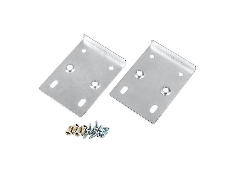 Pair of Silver Hinge Repair Plates