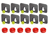 Button Fix - Type 1 - Bonded & Button (Pack of 10+6)