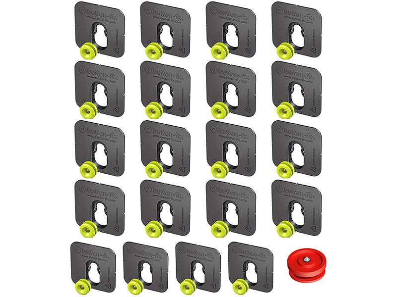 Button Fix - Type 1 - Bonded & Button (Pack of 20)