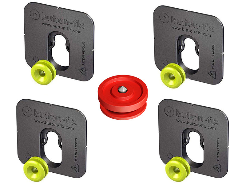 Button Fix - Type 1 - Bonded & Button (Pack of 4)
