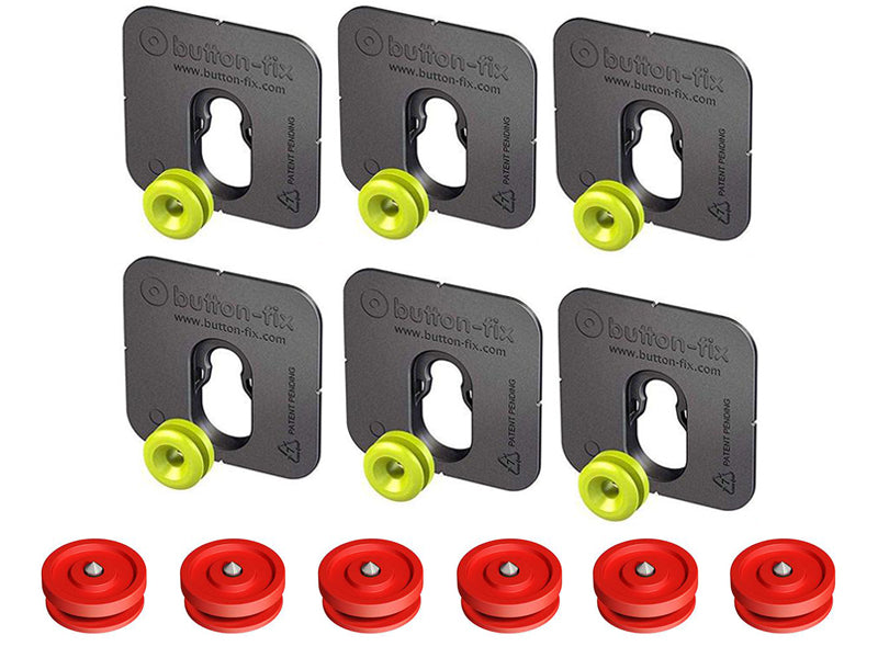 Button Fix - Type 1 - Bonded & Button (Pack of 6+6)