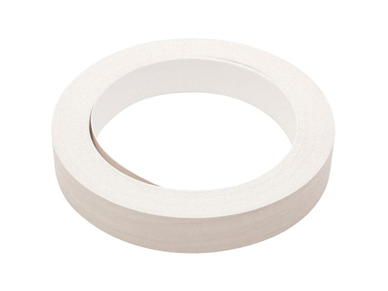 Melamine Tape for Edging Kitchen or Bathroom Cabinets, 10 Meter Roll White