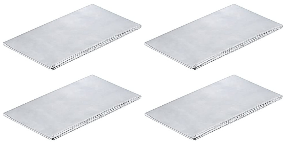 Aluminium Foil Sheet Self Adhesive Reflective Heat Worktops Protectors 1000x60mm