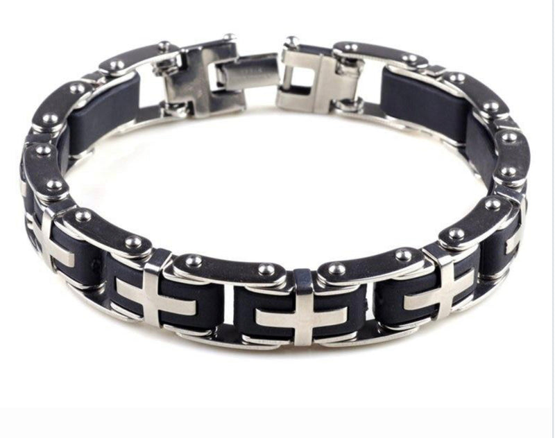Tuff Stainless Steel Bracelets - Fashion Addict Shop