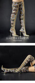 Heir To The Throne Boots - Fashion Addict Shop