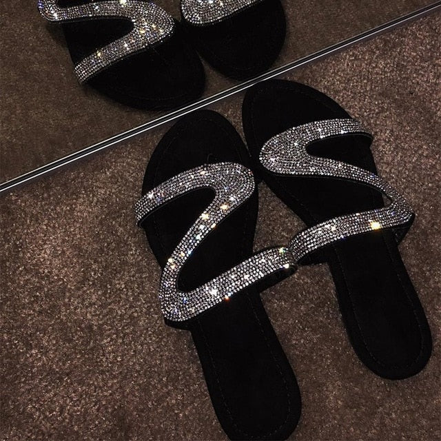 Money Bag Slippers - Fashion Addict Shop