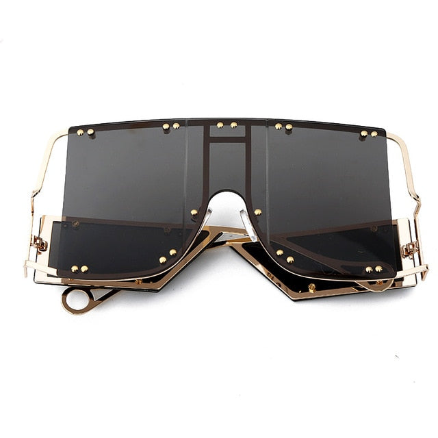 Luxury Retro Square Sunglasses - Fashion Addict Shop