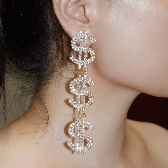 Big Bucks Earrings - Fashion Addict Shop