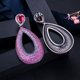 Exquisite Big Water Drop Earrings - Fashion Addict Shop