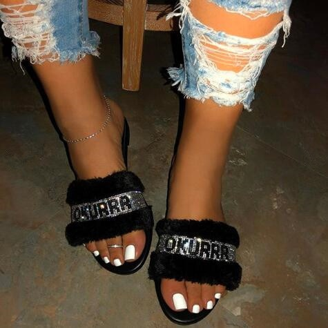 Bardi Slides - Fashion Addict Shop