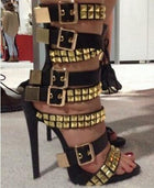 Strap up and Secure Stilettos - Fashion Addict Shop
