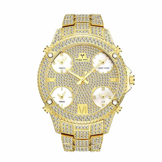Luxury Check Me Out Watch