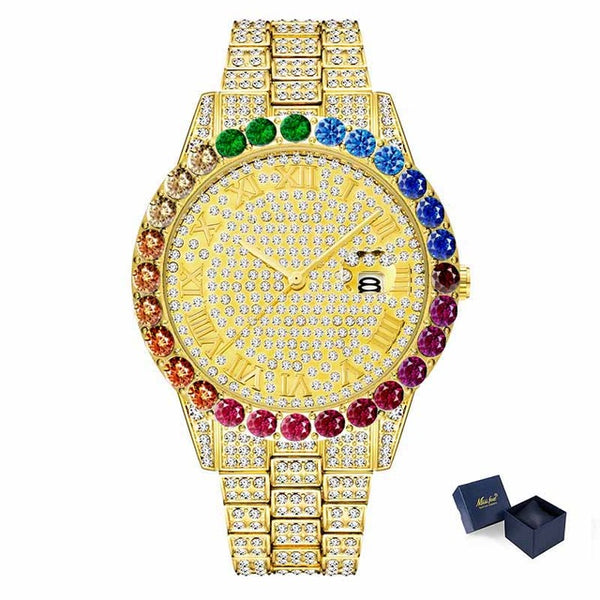 Rainbow Big Dial Watch